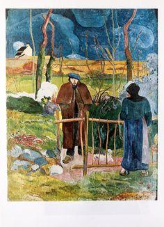 A personal favourite from my Etsy shop https://www.etsy.com/uk/listing/594649534/gauguin-bonjour-monsieur-gauguin-1889