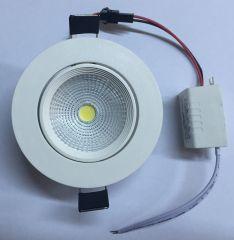 5 W Cob Led Downlight Armatür BEYAZ KASA Led Projektor, Cob, Downlights, Flora, Home Appliances, Taps, House Appliances, Plants, Appliances