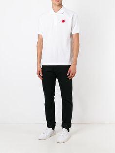 Comme Des Garçons Play chemise à détail de patch logo