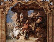"New artwork for sale! - "" Tiepolo Villa Valmarana Angelica And Medoro With The Shepherds by Giovanni Battista Tiepolo "" - http://ift.tt/2pTjjAc"