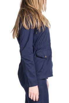 Navy anorak jacket
