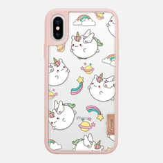 Casetify iPhone X Classic Grip Case - Unicorn by Mint Corner