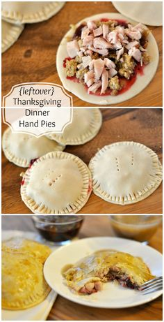 {leftover} Thanksgiving Dinner Hand Pies - The Mother Huddle Thanksgiving Leftovers, Thanksgiving Recipes, Holiday Recipes, Happy Thanksgiving, Leftovers Recipes, Dinner Recipes, Empanadas, Hand Pies, Leftover Turkey