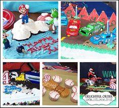 Delightful Order: Boy Birthday Party Ideas