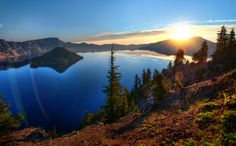 Go here this summer - Crater Lake, Oregon. Photo: Trey Ratcliff on SkiMag.com