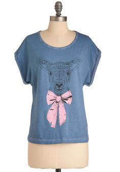 a lamb shirt. :) quaint. i think i really just love the irony of the idea of me wearing this..