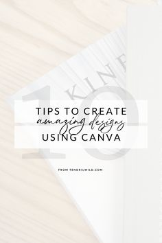 Canva is my FAVORITE blogging tool that I've ever used, and these secret Canva tips and tricks will help you create more professional graphic designs.