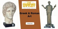 Are you thinking about buy Greek & Roman art? If yes then visit https://www.themuseumoutlet.com/home-decor-and-gifts/sculptures/greek-and-roman-art and shop best crafted sculpture art online. #BuySculptureArtOnline