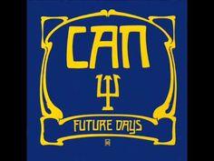 Sur l'étrange pochette de Future days (1973)figure un symbole cabalistique en relief or sur fond bleu signifiant la lettre grecque psi. Cette lettre veut aussi dire ESP qu'on peut traduire par expérience extra sensoriel. Future days se déroule dans une atmosphère apaisante . La musique est moins torturée, plus vaporeuse  ... quarante et un ans après sa sortie, Future days s'avère être le disque le plus apaisé et raffiné de toute la carrière de Can .