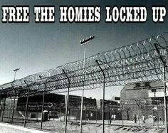 I wish they would free all my homies give them a second chance in the world