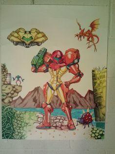 Super Metroid - fan art