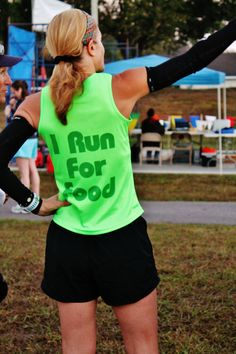 Our very own managing editor runs for food! No Farmers No Food