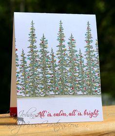 Splitcoaststampers FOOGallery - A Christmas Glow