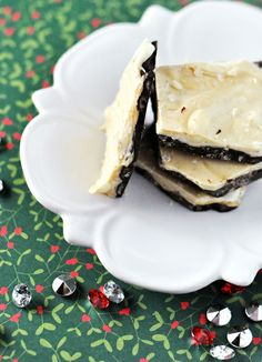 Peanut Butter & White Chocolate Bark with Brown Rice Cereal Recipe