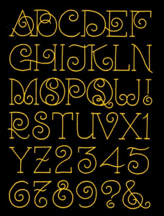 Awesome Typography Alphabet Design (61)