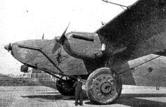 Beardmore Inflexible (look at that landing gear!)