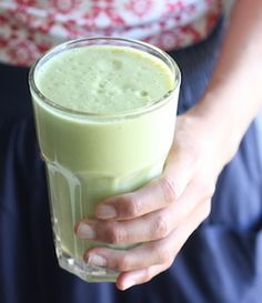 avocado green tea matcha recipe