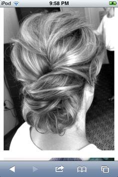 Bridesmaid hairstyle??