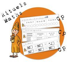 Rituels Maths CP :Nombres de 1 à 10