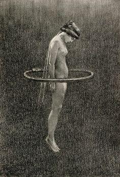 """""""Fidus, Ouroboros Hoop from Jugend,1896  """""""