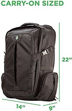 Amazon.com  Tortuga Travel Backpack - 44L Maximum-Sized Carry On Travel  Backpack  Sports   Outdoors 6aa9d9553de4c