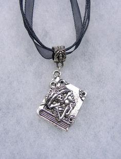 Day of The Dead La  Catrina Necklace Katrina by paulandninascrafts, $9.99