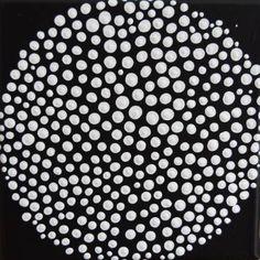 "Saatchi Art Artist Astrid Stoeppel; Painting, ""Mini dot!"" #art"