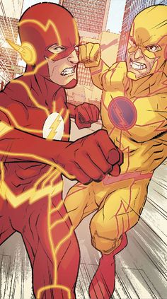 Flash vs Flash-Reverse by Neil Googe