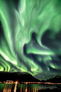 Aurora by colin palmer on October 7, 2015 @ tromso