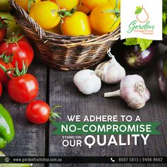 Our No-Compromise stand on Quality is what has truly led to our success over the years. We ensure that all of our products are free from preservatives and artificial flavoring.  Visit www.gordonfruitshop.com.au  #HealthyLiving #EatHealthy #FreshFruits #FreshVegetables #FreshFromFarm #OrganicFruits #OrganicVegetables Organic Vegetables, Fresh Fruit, Preserves, Onion, Healthy Living, Success, Free, Products, Healthy Life