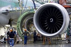 While we always knew that the Boeing 777 was a mammoth achievement in aviation, a few incredible facts have been popping up today about its huge GE-90 engines that we wanted to share (Bangalore Aviation/The Atlantic via @bill_gross):