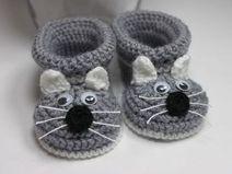 Babyschuhe gestrickt Strickschuhe gehäkelt schuhe