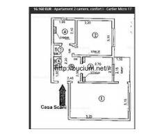 Licitatie publica:Apartament 2 camere, confort I - Cartier Micro 17 Galati - Anunturi de mica publicitate