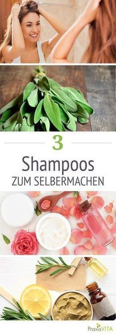 Shampoo selber machen Strong, smooth and shiny hair – who doesn't want it? Conventional pharmacy shampoos often contain fragrances and dyes that can irritate the scalp. Doing your own shampoo would be an alternative. PraxisVITA shows how this is done. Beauty Secrets, Diy Beauty, Beauty Makeup, Beauty Hacks, Beauty Tips, Beauty Room, Beauty Care, Beauty Products, Diy Shampoo
