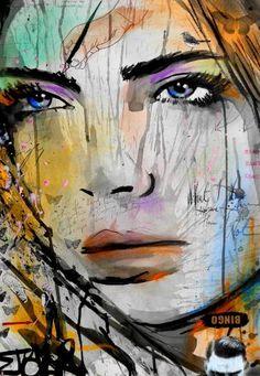 "Saatchi Art Artist Loui Jover; Drawing, ""just fantasy"" #art"