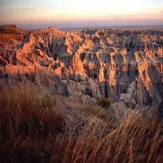 The Badlands National Park, South Dakota.  There is no other place on Earth like it.