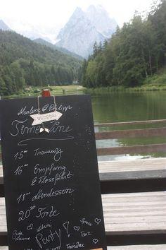 Time Line - Zeitplan - Rosamunde Pilcher inspirierte Sommerhochzeit in Pfirsich, Apricot, Pastelltöne - Heiraten in Garmisch-Partenkirchen, Bayern, Riessersee Hotel, Seehaus am Riessersee - Hochzeit am See in den Bergen - Peach and Pastell wedding