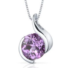 MSRP: $199.99  Our Price: $89.99  Savings: $110.00         Item Number: SP9494    Availability: Usually Ships in 5 Business Days         PRODUCT DESCRIPTION:    A large round lab created pink sapphire sits prominently at the center of this solitaire pendant for her and feature a contemporary bezel set design. A perfect gift for Mothers Day, Birthdays, Valentines Day, Graduation, Christmas or just about any other occasion.    FEATURES:      	Crafted in .925 Sterling Silver  	8.0 mm Lab…