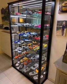 vitrine pour vehicule miniature