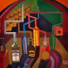 """""""Dancing bottles"""" Bottle Art, New Art, Saatchi Art, Art Projects, Dancing, Bottles, My Arts, Collage, Art Prints"""