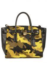 Stand out from the crowd! Deze Hamilton Traveler bag van Michael Kors in camouflage kleuren is super trendy. Handtas, sac à main, handbag, beschikbaar op www.edisac.be