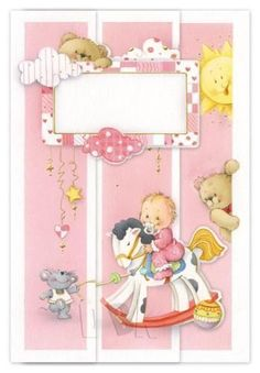 """Image Library Designs Original illustrations occasions """"Baby Girl"""""""