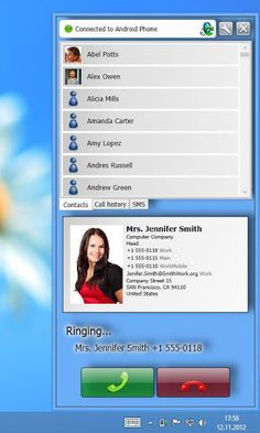 Remote Phone Call v5.7 [paid + patched] Requirements: 2.0 and up Overview: Use your Microsoft Windows PC as remote dialer for managing incoming and outgoing calls and for writing and receiving SMS messages. Look for missed incoming calls in your call log, read your SMS and use your phone...