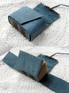 The Little Blue Bundler Unique Small Rustic by bibliographica