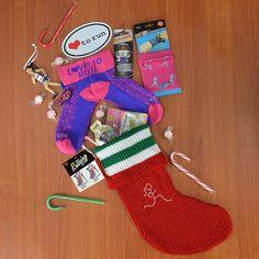 Runner Girl Christmas Stocking