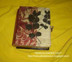 Caja libro                                *Manualidades Cavi*          http://manualidadescavi.blogspot.com/