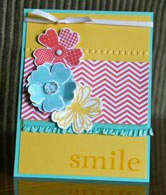 Stampin' Up! Flower Shop by Krystal's Cards and More: July Stamp Club