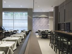The way we choose the places where we would like to spend our free time depends sometimes on the ambiance they owe. We may choose a select club for its Interior Architecture, Interior Design, Italian Style, Restaurant Design, Minimalism, Ny Usa, Nyc, New York, Table