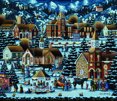 Alpine Christmas, by Eric Dowdle