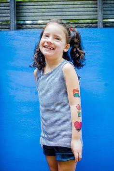Le Petit Pirate - www.lepetitpirate.com Tatuagens Temporárias   Temporary Tattoos Campanha'14 em parceria com RioEtc.